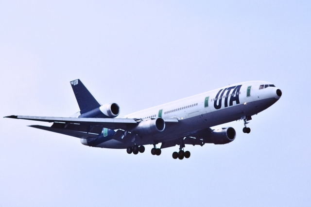 パール大山さんが、成田国際空港で撮影したUTA DC-10-30の航空フォト(飛行機 写真・画像)