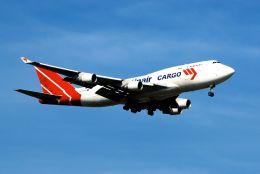 まいけるさんが、スワンナプーム国際空港で撮影したマーティンエアー 747-412(BCF)の航空フォト(飛行機 写真・画像)