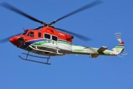 ブルーさんさんが、静岡ヘリポートで撮影した栃木県消防防災航空隊 412EPの航空フォト(飛行機 写真・画像)