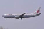 kumagorouさんが、仙台空港で撮影した中国国際航空 737-808の航空フォト(飛行機 写真・画像)