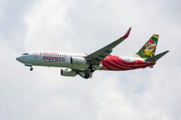 01yy07さんが、シンガポール・チャンギ国際空港で撮影したエア・インディア・エクスプレス 737-86Nの航空フォト(飛行機 写真・画像)