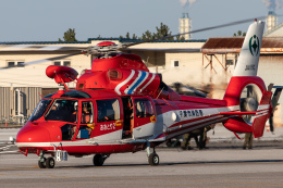 KANTO61さんが、木更津飛行場で撮影した千葉市消防航空隊 AS365N3 Dauphin 2の航空フォト(飛行機 写真・画像)