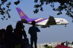パンダさんが、成田国際空港で撮影したタイ国際航空 A380-841の航空フォト(飛行機 写真・画像)