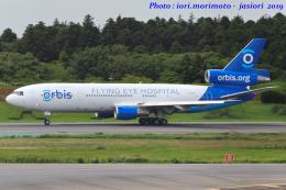 いおりさんが、成田国際空港で撮影したプロジェクト・オルビス MD-10-30Fの航空フォト(飛行機 写真・画像)