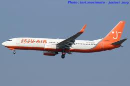 いおりさんが、成田国際空港で撮影したチェジュ航空 737-8ALの航空フォト(飛行機 写真・画像)