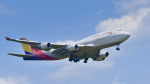 パンダさんが、成田国際空港で撮影したアシアナ航空 747-48Eの航空フォト(飛行機 写真・画像)