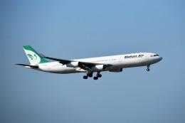 こじゆきさんが、クアラルンプール国際空港で撮影したマーハーン航空 A340-313Xの航空フォト(飛行機 写真・画像)