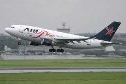 KEEBIRDさんが、名古屋飛行場で撮影したエア・プラス・コメット A310-324/ETの航空フォト(飛行機 写真・画像)