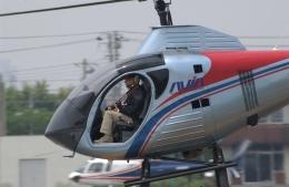 かぐさんが、東京ヘリポートで撮影したアビア航空 269D-A (333)の航空フォト(飛行機 写真・画像)