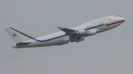Rsaさんが、関西国際空港で撮影した大韓民国空軍 747-4B5の航空フォト(飛行機 写真・画像)