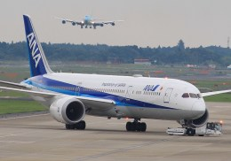 mahiちゃんさんが、成田国際空港で撮影した全日空 787-9の航空フォト(飛行機 写真・画像)