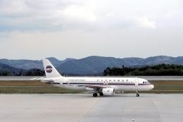 LEVEL789さんが、広島空港で撮影した中国西北航空 A320-214の航空フォト(飛行機 写真・画像)