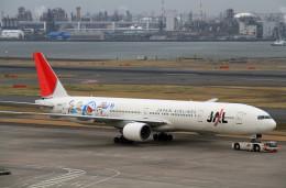 shibu03さんが、羽田空港で撮影した日本航空 777-346の航空フォト(飛行機 写真・画像)