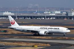 にしやんさんが、羽田空港で撮影した日本航空 777-246/ERの航空フォト(飛行機 写真・画像)