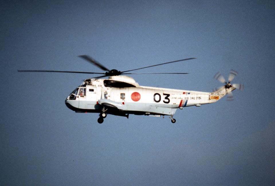 なごやんさんの海上自衛隊 Mitsubishi S-61 (8103) 航空フォト