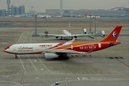 SFJ_capさんが、羽田空港で撮影した中国東方航空 A330-343Xの航空フォト(飛行機 写真・画像)