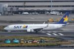 kuro2059さんが、羽田空港で撮影したスカイマーク 737-81Dの航空フォト(飛行機 写真・画像)