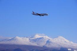 でぶさんが、青森空港で撮影した日本航空 767-346の航空フォト(飛行機 写真・画像)