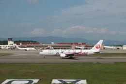 でぶさんが、青森空港で撮影した日本航空 767-346/ERの航空フォト(飛行機 写真・画像)
