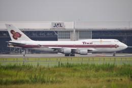 JA731Aさんが、成田国際空港で撮影したタイ国際航空 747-4D7の航空フォト(飛行機 写真・画像)