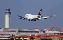 shibu03さんが、羽田空港で撮影したルフトハンザドイツ航空 747-430の航空フォト(飛行機 写真・画像)