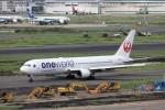 KAZFLYERさんが、羽田空港で撮影した日本航空 767-346の航空フォト(飛行機 写真・画像)