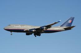 shibu03さんが、成田国際空港で撮影したユナイテッド航空 747-422の航空フォト(飛行機 写真・画像)