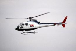 なごやんさんが、名古屋飛行場で撮影した中日新聞社 AS350B Ecureuilの航空フォト(飛行機 写真・画像)