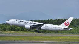 パンダさんが、新千歳空港で撮影した日本航空 777-289の航空フォト(飛行機 写真・画像)