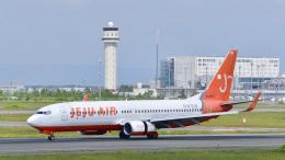 パンダさんが、新千歳空港で撮影したチェジュ航空 737-8Q8の航空フォト(飛行機 写真・画像)