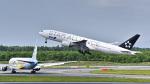 パンダさんが、新千歳空港で撮影した全日空 777-281の航空フォト(飛行機 写真・画像)