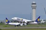 パンダさんが、新千歳空港で撮影したスカイマーク 737-82Yの航空フォト(飛行機 写真・画像)