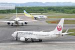 パンダさんが、新千歳空港で撮影した日本航空 737-846の航空フォト(飛行機 写真・画像)