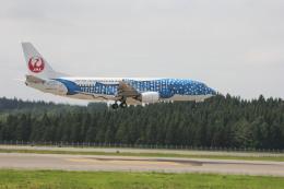 でぶさんが、青森空港で撮影した日本トランスオーシャン航空 737-4Q3の航空フォト(飛行機 写真・画像)
