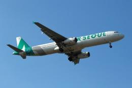 採れたてほしいもさんが、仁川国際空港で撮影したエアソウル A321-231の航空フォト(飛行機 写真・画像)