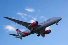 JA8037さんが、ロンドン・ヒースロー空港で撮影したケニア航空 787-8 Dreamlinerの航空フォト(飛行機 写真・画像)