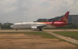 Rsaさんが、広州白雲国際空港で撮影した深圳航空 737-86Jの航空フォト(飛行機 写真・画像)
