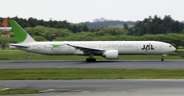 planetさんが、成田国際空港で撮影した日本航空 777-346/ERの航空フォト(飛行機 写真・画像)