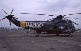 F-4さんが、厚木飛行場で撮影したアメリカ海軍 UH-3H Sea King (S-61B)の航空フォト(飛行機 写真・画像)