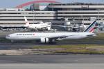 kuro2059さんが、羽田空港で撮影したエールフランス航空 777-328/ERの航空フォト(飛行機 写真・画像)