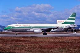 パール大山さんが、伊丹空港で撮影したキャセイパシフィック航空 L-1011-385-1 TriStar 1の航空フォト(飛行機 写真・画像)
