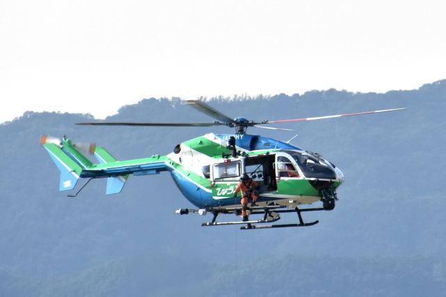 ワイエスさんが、神戸空港で撮影した兵庫県消防防災航空隊 BK117C-2の航空フォト(飛行機 写真・画像)