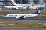 kuro2059さんが、羽田空港で撮影したスカイマーク 737-82Yの航空フォト(飛行機 写真・画像)