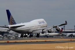 Tobby Suzukiさんが、成田国際空港で撮影したユナイテッド航空 747-451の航空フォト(飛行機 写真・画像)