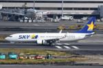 kuro2059さんが、羽田空港で撮影したスカイマーク 737-8FZの航空フォト(飛行機 写真・画像)