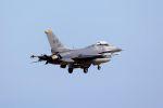 kazuchiyanさんが、岩国空港で撮影したアメリカ空軍 F-16CM-50-CF Fighting Falconの航空フォト(飛行機 写真・画像)