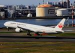 ふじいあきらさんが、羽田空港で撮影した日本航空 777-346の航空フォト(写真)
