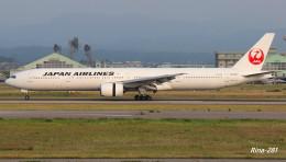 RINA-281さんが、小松空港で撮影した日本航空 777-346の航空フォト(飛行機 写真・画像)