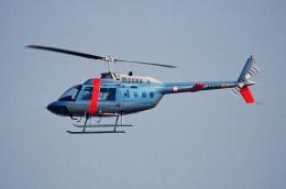 なごやんさんが、名古屋飛行場で撮影した岐阜県警察 206B JetRanger IIの航空フォト(飛行機 写真・画像)