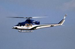 なごやんさんが、名古屋飛行場で撮影した朝日航洋 412の航空フォト(飛行機 写真・画像)